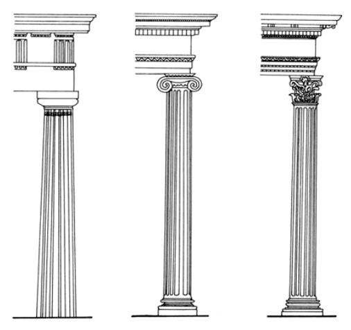 B e l l e h e j a z i for Doric columns